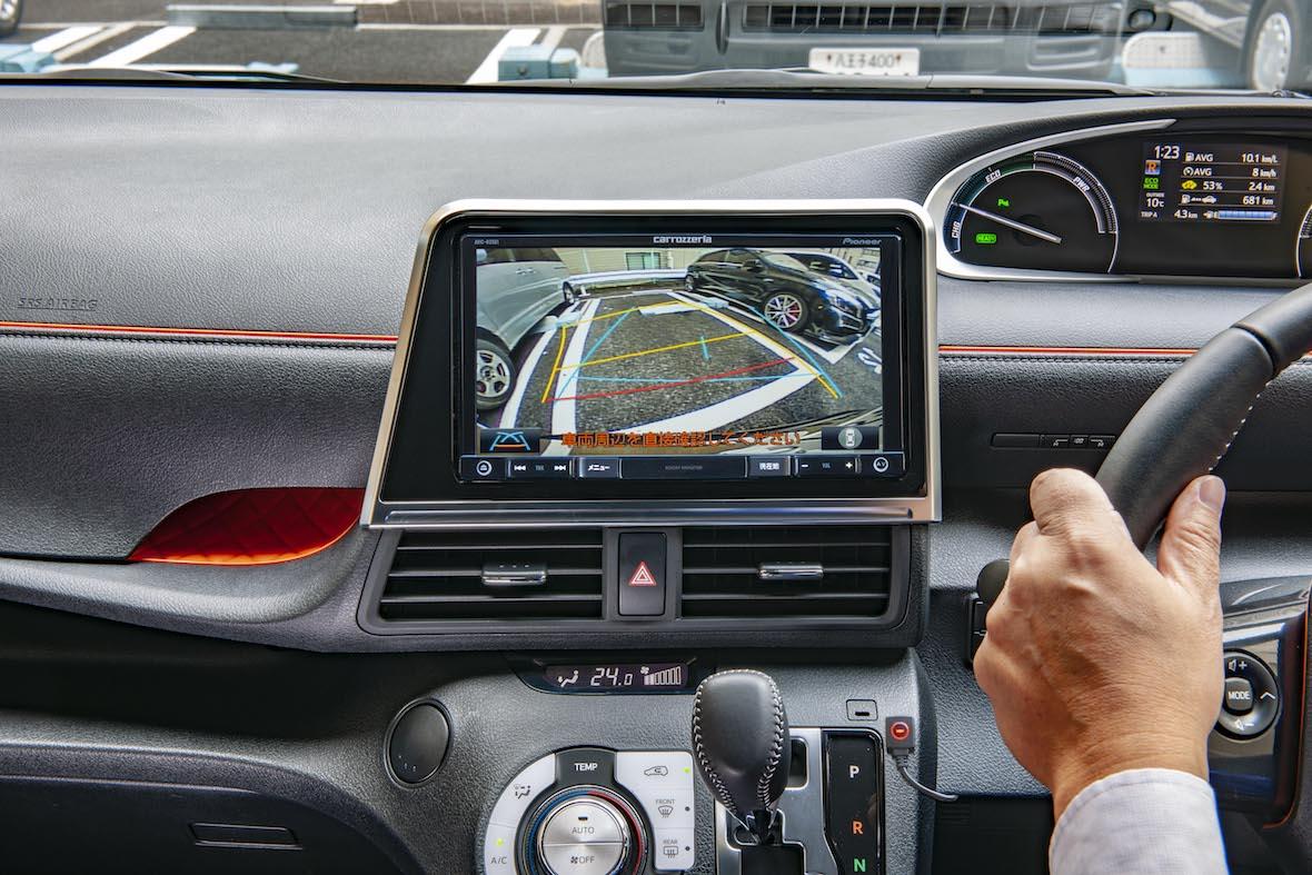 データシステム シエンタ パノラミックビューモニター 全方位モニター 駐車 アダプタ カーナビ 社外