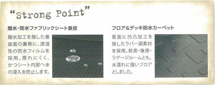 トヨタ・FJクルーザー(GSJ15W)防水