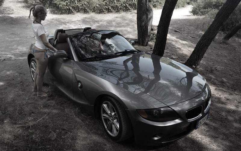 BMW・Z4(E85/E86型)スタイリング2