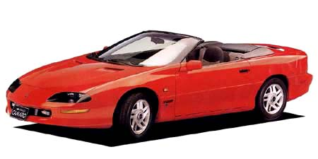 シボレー・カマロ(CF型)スタイリング6