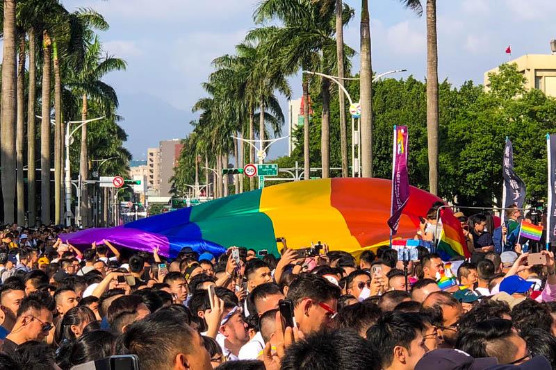 台灣同志遊行2019(台湾LGBTプライド)