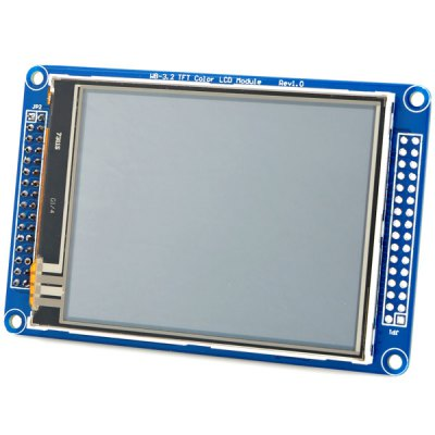 WBYJB02 Arduino Compatible 3.2 Inch Color TFT Touch LCD Screen Module (Blue)