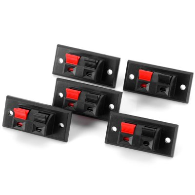 WP2 - 2 Practical DIY PA66 Binding Post Terminal Block for Electronic Components  -  5PCS
