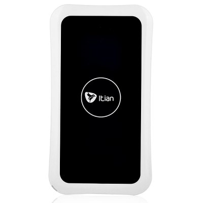 Itian K8 Rectangle Shaped Ultrathin Qi Wireless Power Charger Launcher