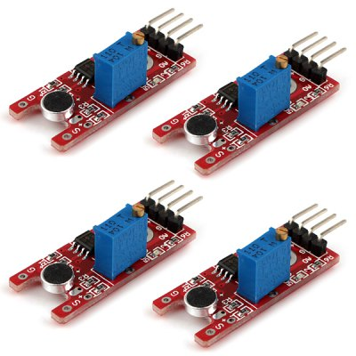 GLMD01 DIY Sensitive Microphone Sensor Module for Arduino (4pcs)