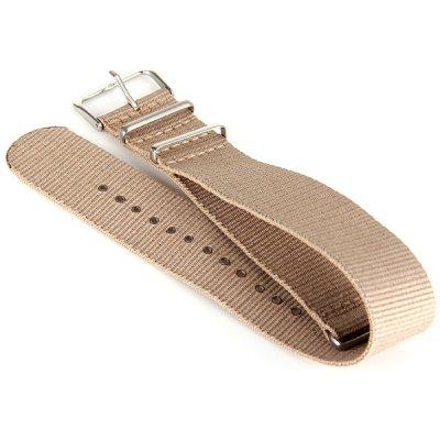 2.4cm Canvas Watch Band Strap Wristband