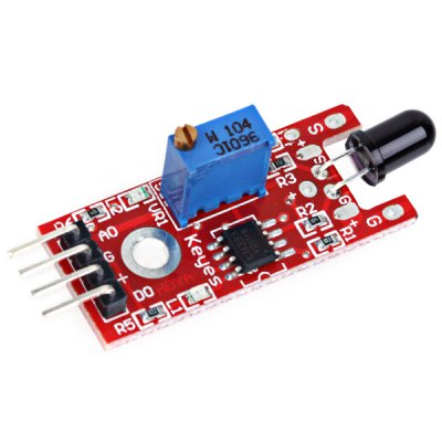 Practical Flame Detection Sensor Module for Arduino