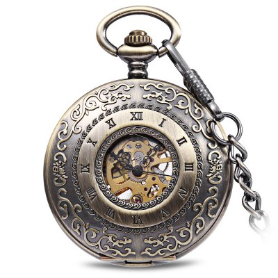 Flip Mechanial Pocket Watch