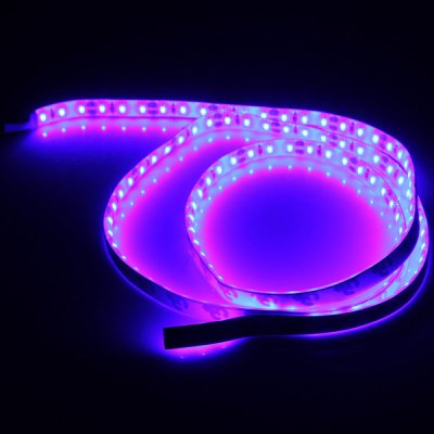 Sencart 1M 7.5W 120 SMD 3014 LEDs Waterproof Flexible Strip Light for Decoration  -  Blue Light