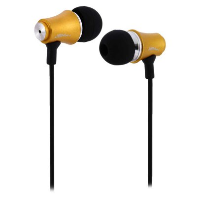 JBMMJ MJ8500 Clear Bass Dynamic In - ear Earphone / Headphone 3.5MM Jack 1.2M Round Cable