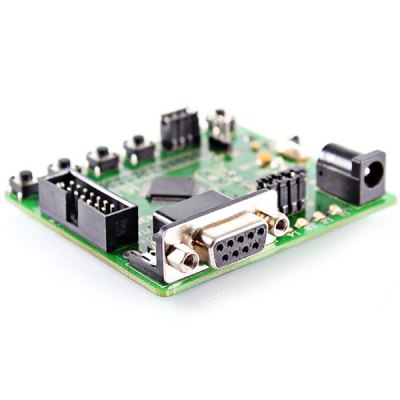 TI - MSP430F169 Development Board with 4 Programmable LEDs and 4 Programmable Buttons