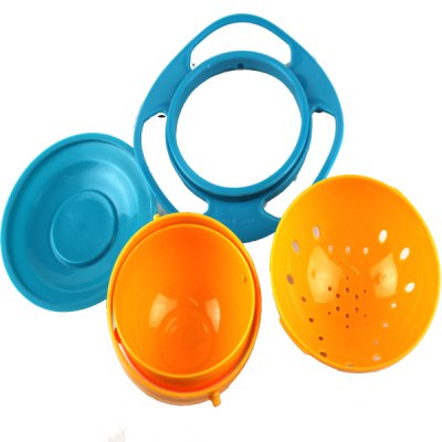 360 Degree Flying Saucer Bowl Baby Training Tableware Toy