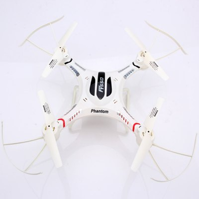 FY550 - 1 6 Axis Gyro 4 CH 2.4GHz Remote Control Quad Copter 360 Degrees Eversion Aircraft