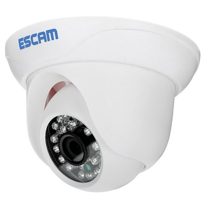 ESCAM QD500 3.6mm Lens IP66 Waterproof 1MP Conch Camera H.264 HD 720P High Defenition Monitor