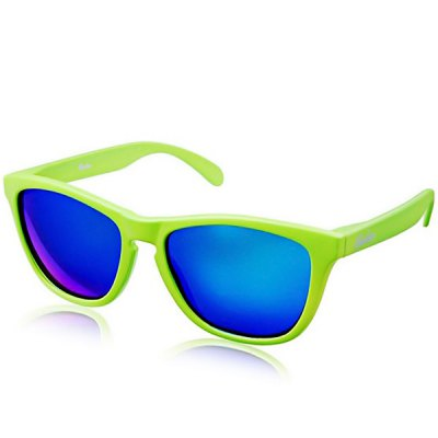 Fashion All-match UV Protection Ergonomics Design Blue Lens Sunglasses