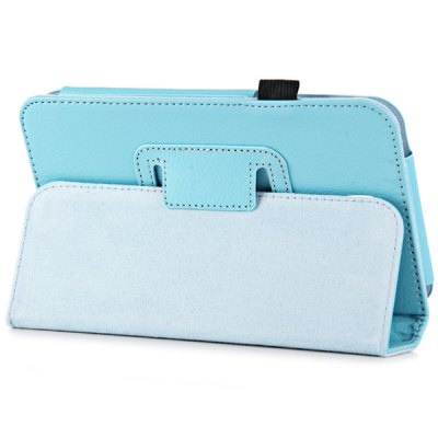 PU Leather Protective Case with Folding Stand Function Specially for 7 inch Samsung T211 T210 P3200 Tablet PC