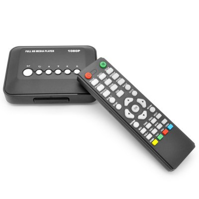 MP018-F10 1080P Full HD Media Player player support Multi-language