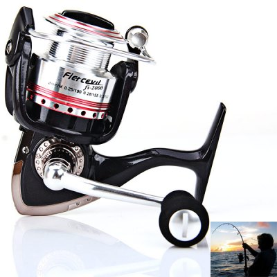 Hot Sale Corrosion-resistant Fi2000 5BB Fishing Reel Spinning Reels Practical Fishing Tackle
