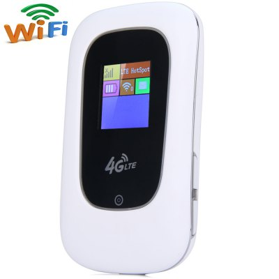 KinLe V8 2 in 1 High Speed 3G 4G WiFi Router Wireless Repeater Built - in 2400mAh Power Bank for Home Office Hotel