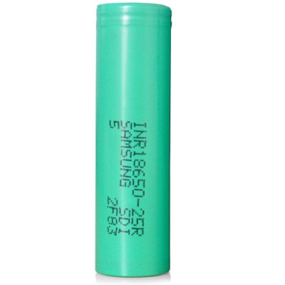 3.7V 2500mAh 18650 Rechargeable Li-ion Battery ( INR18650 - 25R )