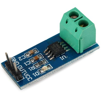 Mini and Practical ACS712 20A Current Sensor Module for Arduino