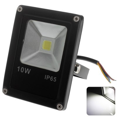 Zweihnder 10W COB Flood Light 950LM Ultra Bright LED Security Light (6000 - 6500K)