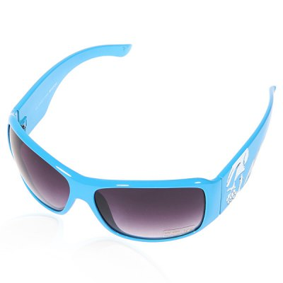 High Quality Halloween Chrismas Gifts Eyeglasses for Indoor Outdoor Blue Frame Gray Resin Lens