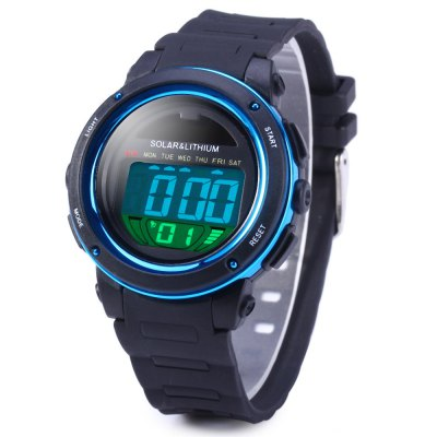 Skmei 1096 LED Solar Watch