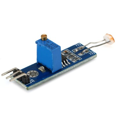 LM393 Single Channel Signal Output Photosensitive Sensor Photo Resistor Module