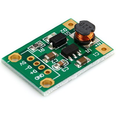 111701 Booster Module Power Supply for Single Chip Microcomputer  -  1V to 5V Input Voltage