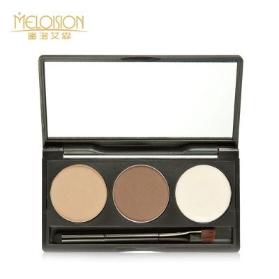 Waterproof Long Lasting Eyebrow Powder with Cream