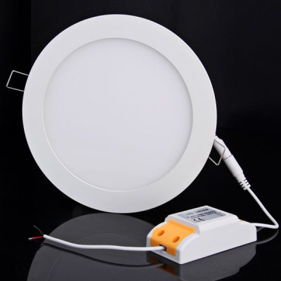 16W 85 - 265V 1650lm 3000K Warm White Circular Ceiling Light