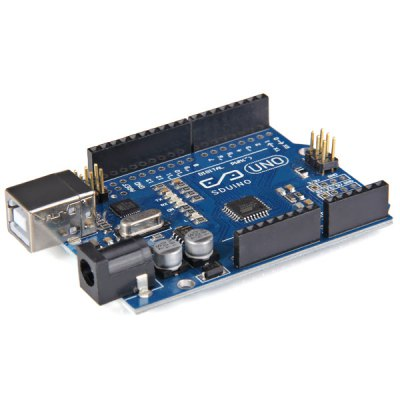 Enthusiasts Evolution Version Arduino UNO R3 ATmega328P Development Module 2013 Version with Free USB Cable