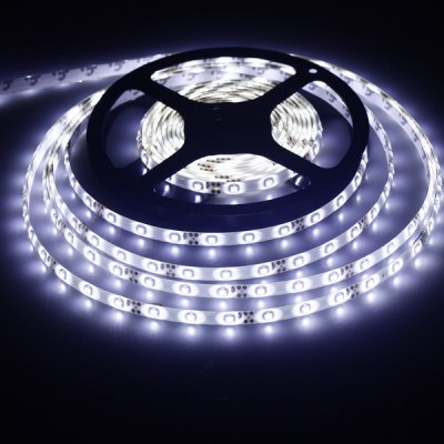 SMD - 3528 300 LEDs 18W 5M Water - resistant Flexible Strip Light  -  White Light