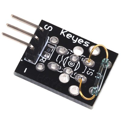 Keyes KY - 021 Mini Reed Magnetic Detection Sensor Module Works with Official Arduino  -  3PCS