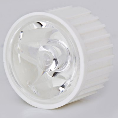 DIY LED Specialized Optical 23MM Lens with Support High Power Spot Light 30 Degree Irritation Angle