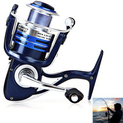 Hot Sale Corrosion-resistant LB4000 4+1BB Fishing Reel Spinning Reels Practical Fishing Tackle