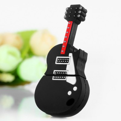 Creative USB2.0 8GB USB Flash Memory Disk Guitar Style for Desktop Laptop