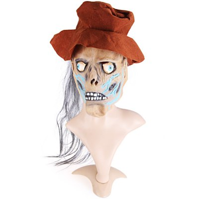 Detail - oriented Halloween Straw Man Mask Kit Fancy Ball Christmas Cosplay Props Party Fools Day Decoration