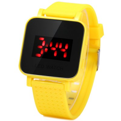 Children LED Watch Rubber Wristband for Outdoor Sports