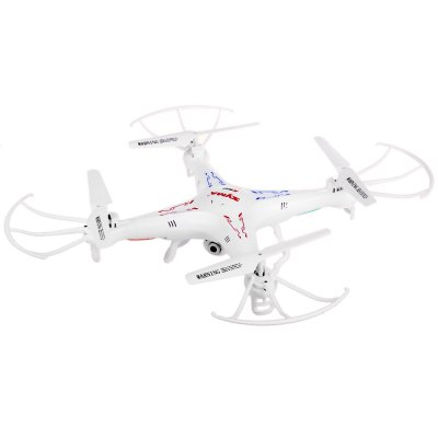 Syma X5C New Version X5C  -  1 Remote Control 6 Axis Gyro 4CH 2.4GHz Quadcopter with 360 Degree 3D Flip 200W HD Camera USB Charg