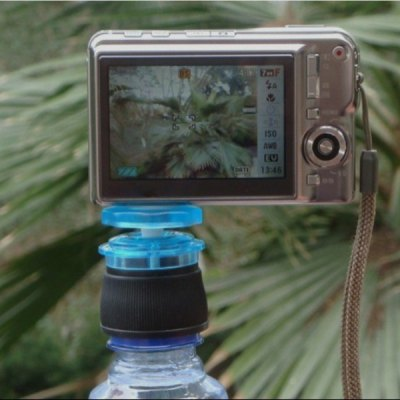 Creative Bottle Cap Design Rotatable Mini Tripod Camera Accessory Fitting