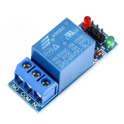 Arduino Compatible 1 - Channel 5V Relay Module 250V AC/ 30V DC