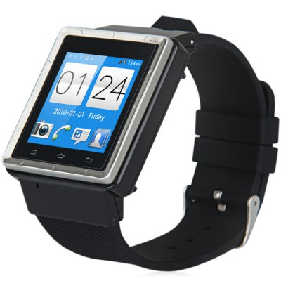 ZGPAX S6 Android 4.4 3G Smart Watch 1.0GHz MTK6572 Dual Core 4GB ROM Bluetooth Camera