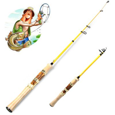 Yoshikawa 605UL 1.8m Telescopic Tele Spin Fishing Rod Pole Stick