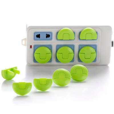8pcs Plug Socket Protection Electrical Security Lock Cover for Baby