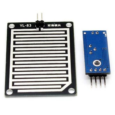 Rain Drop Sensor + Relay Module Board for Arduino (OA Output)