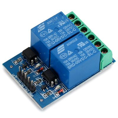 EL817 5V 10A 2 Channels Optical Coupling Isolation Type Relay Module