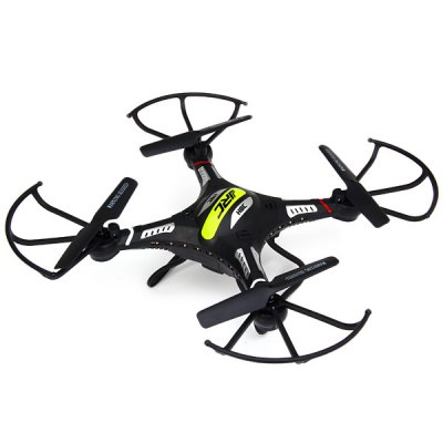 JJRC H8C New Design 4 Channel 6 Axis Gyro 2.4GHz Quadcopter with 2.0MP HD Camera 360 Degree Eversion Function LED Light