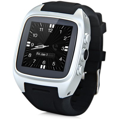 Z01 Android 4.4 3G Smart Watch 1.3GHZ MTK6572 Dual Core 4GB ROM Bluetooth Camera
